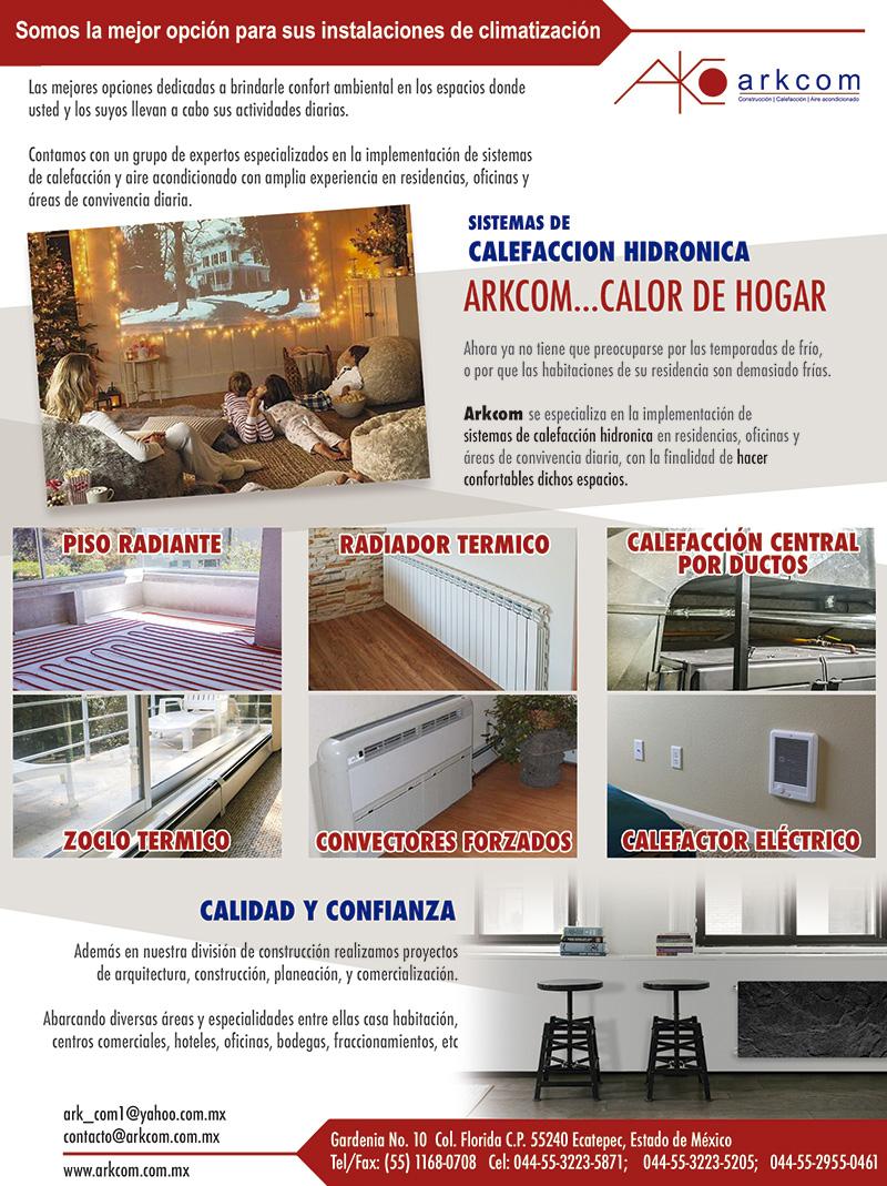 Arkcom Expertos en la implemetación de sistemas de calefacción y aire acondicionado